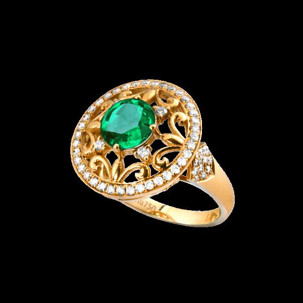 白金汉回忆-·-祖母绿戒指